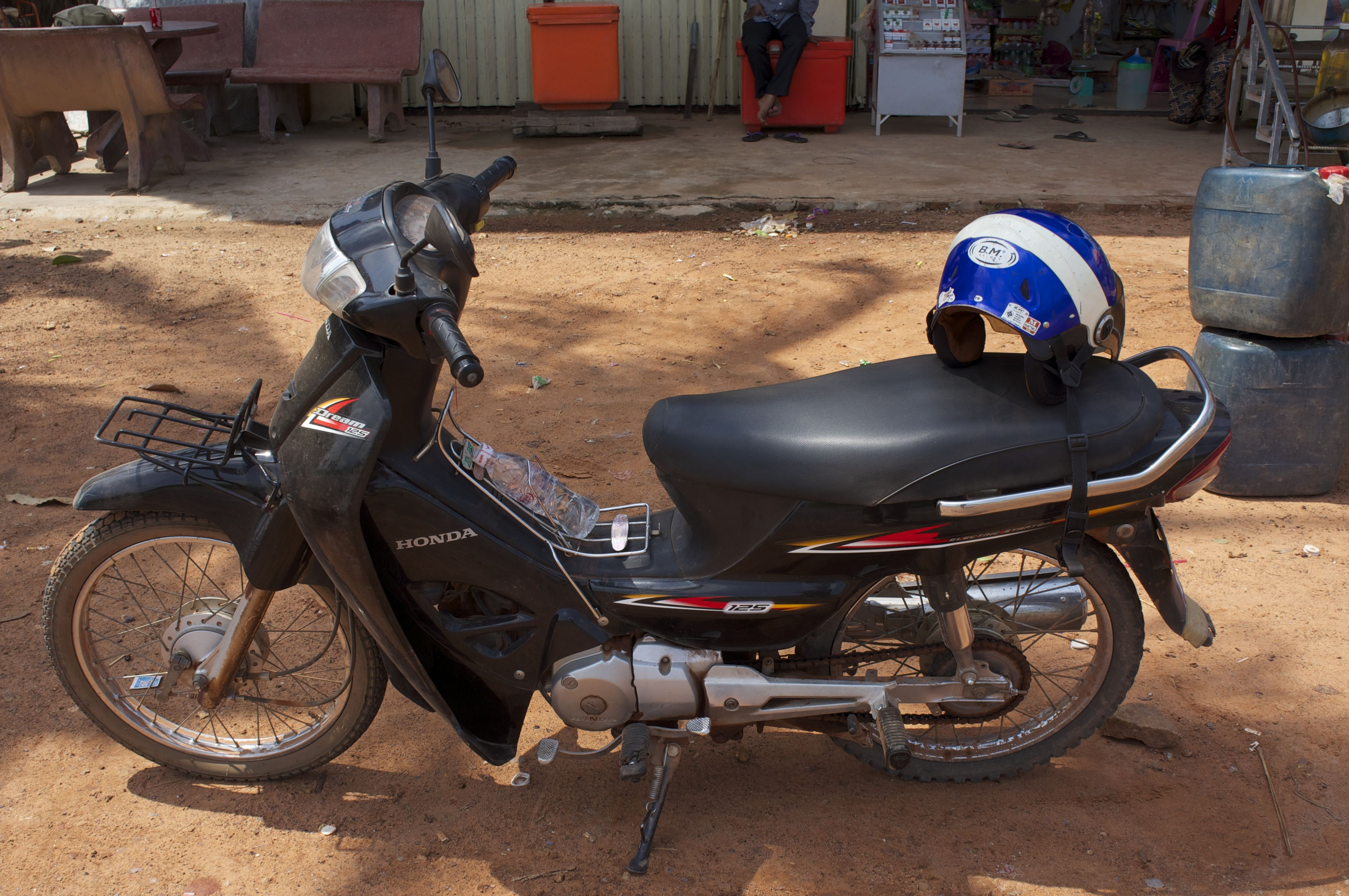cambodia:motorcycle to chau srey vibol, part 1 - james trumm