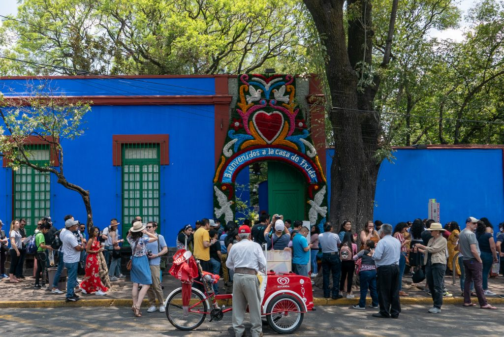 With Frida Kahlo At Casa Azul James Trumm
